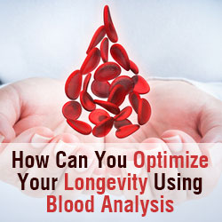 Learn how can you optimize your longevity using blood analysis