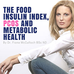 The Food Insulin Index, PCOS and Metabolic Health